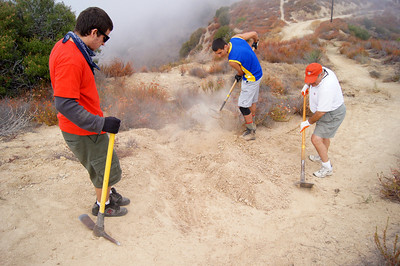 Eagle Scout Project at Verdugo Peak